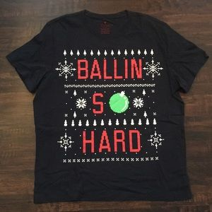 "American Eagle ""Ballin So Hard"" T Shirt"